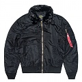 B-15 SLIM FIT FLIGHT JACKET-BLACK*