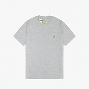 (K87) 포켓반팔티 POCKET WRK T-SHIRT-HGY