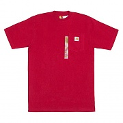 (K87) SHORT SLEEVE WRK DRY-RED(600)