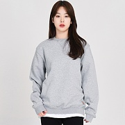 (K124) MIDWEIGHT CREWNECK-HGY