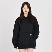(K121) MIDWEIGHT HD PULLOVER-BLK