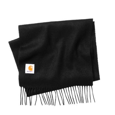(I013507) CLAN SCARF-BLACK