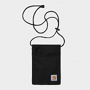 (I020835)WIP COLLINS NECK POUCH-BLK