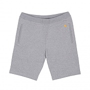 (I018429)WIP CHASE SWEAT SHORT - GREY HEATHER