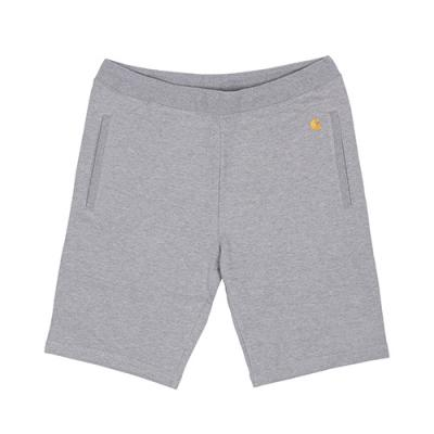 (I018429) WIP CHASE SWEAT SHORT - GREY HEATHER