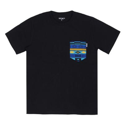 (I017127) LESTER POCKET T-SHIRT-BLK