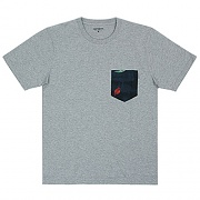 (I017127)WIP S/S LESTER POCKET T-SHIRT-GREY HEATHER