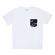 (I017127) LESTER POCKET T-SHIRT-WHT