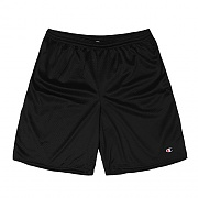 LONG MESH SHORT WITH POCKETS-BLACK