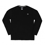 JERSEY LONG SLEEVE TEE-BLACK