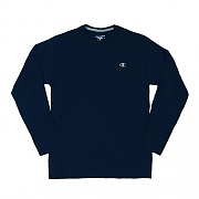 JERSEY LONG SLEEVE TEE-NAVY