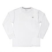 JERSEY LONG SLEEVE TEE-WHITE