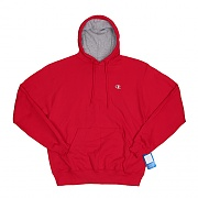 ECO FLEECE PULLOVER HD-CRIMSON