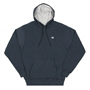 ECO FLEECE PULLOVER HD-NAVY HEATHER