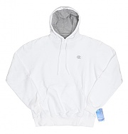 ECO FLEECE PULLOVER HD-WHT