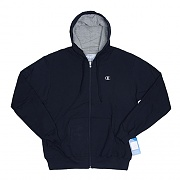 ECO FLEECE FULL ZIP-NVY