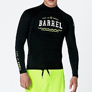 SWELL MEN RASHGUARD V3-BLACK
