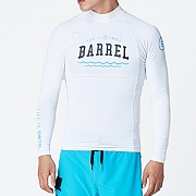 SWELL MEN RASHGUARD V3-WHITE