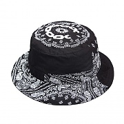 PANELED PAIS BUCKET HAT-BLK