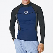 CIRCLE RASHGUARD-NAVY-D.HAWAII