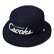 TEAM CROOKS BUCKETHAT - TRUE NAVY(10824)