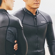 COAST NEOPRENE JACKET-BLACK