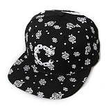CHAIN C PAISLEY SNAPBACK - BLK(10804)