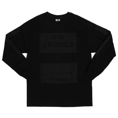 BLOCKS 38 LS TEE - BLK(1510111)