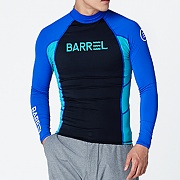 OG MEN RASHGUARD V3-BLUE-BLACK