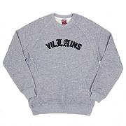 VILLAINS CREW SWEATSHIRT-GRY (1420109)