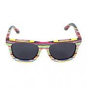 RECYCLED SKATEBOARD SUNGLASSES-MULTI