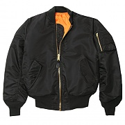 MA-1 FLIGHT JACKET-BLACK*