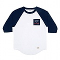 OG SIGN RAGLAN-WHT/NVY