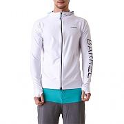 TULUM ZIP-UP HOOD RASHGUARD-WHITE