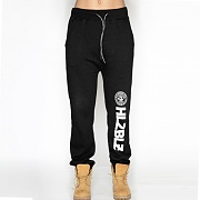 WHO RUN THIS SWEATPANTS-BLACK