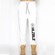 WHO RUN THIS SWEATPANTS-WHITE