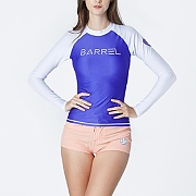 EVE RASHGUARD-PURPLE-WHITE