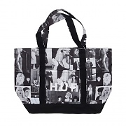 BLONDIE TOTE BAG-WHT