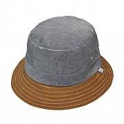 CHAMBRAY FIELD BUCKET-BLK