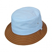 CHAMBRAY FIELD BUCKET-BLUE