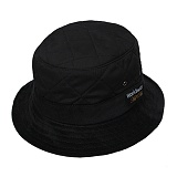 QUILTED BUCKET-BLK