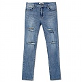 LOUIS DESTROYED JEANS-BLUE