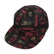 DRINK UP 6 PANEL-BLK