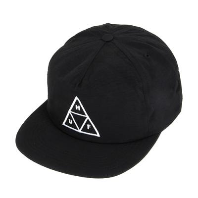 TRIPLE TRIANGLE SNAPBACK-BLK (THIN)