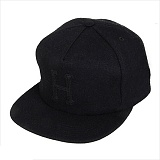 WOOL CLASSIC H STRAPBACK_BLK/BLK