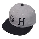 HUF X SPITFIRE 6 PANEL-GRY
