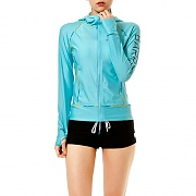 LINDA ZIP-UP HOOD RASHGUARD-MINT