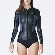 PLUMA NEOPRENE JACKET-BLACK