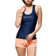 TANK-TOP RASHGUARD-NAVY