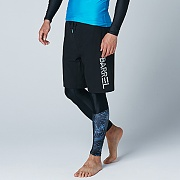 BASICO BOARDSHORT-ALL BLACK